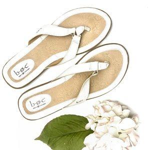boc Born Concepts White Sandals